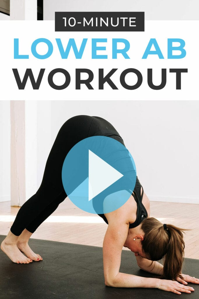 10-Minute Lower Ab Workout