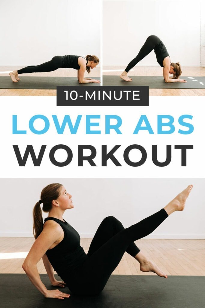 10-Minute Lower Abs Workout