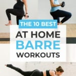 At Home Barre Workouts | Online Barre Class