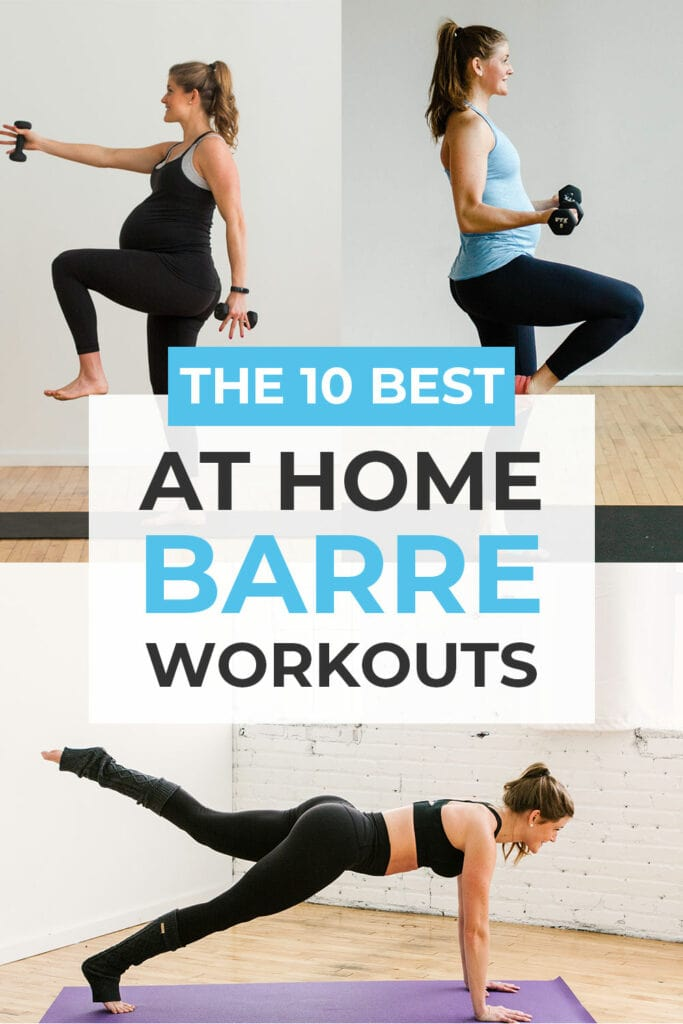 10 Best Online Barre Classes