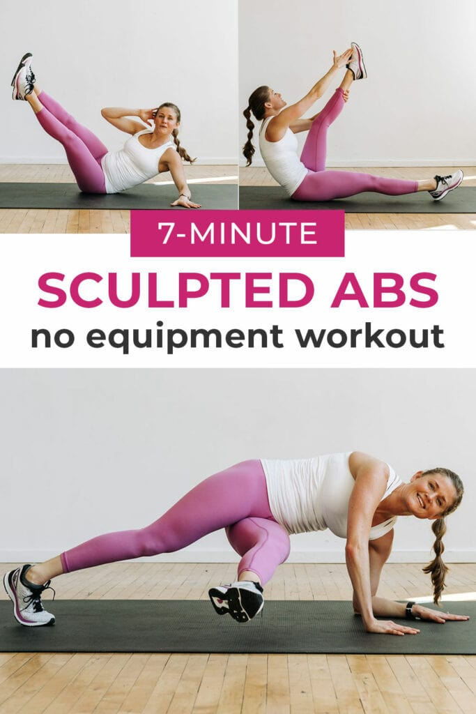 7 Minute Abs Workout For Women | ab workouts for women