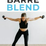 Barre Blend | barre cardio workout