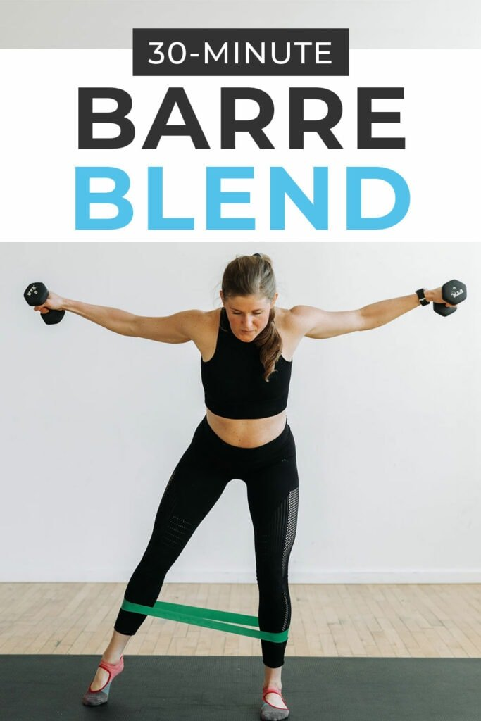 30-Minute Barre Blend Workout Video