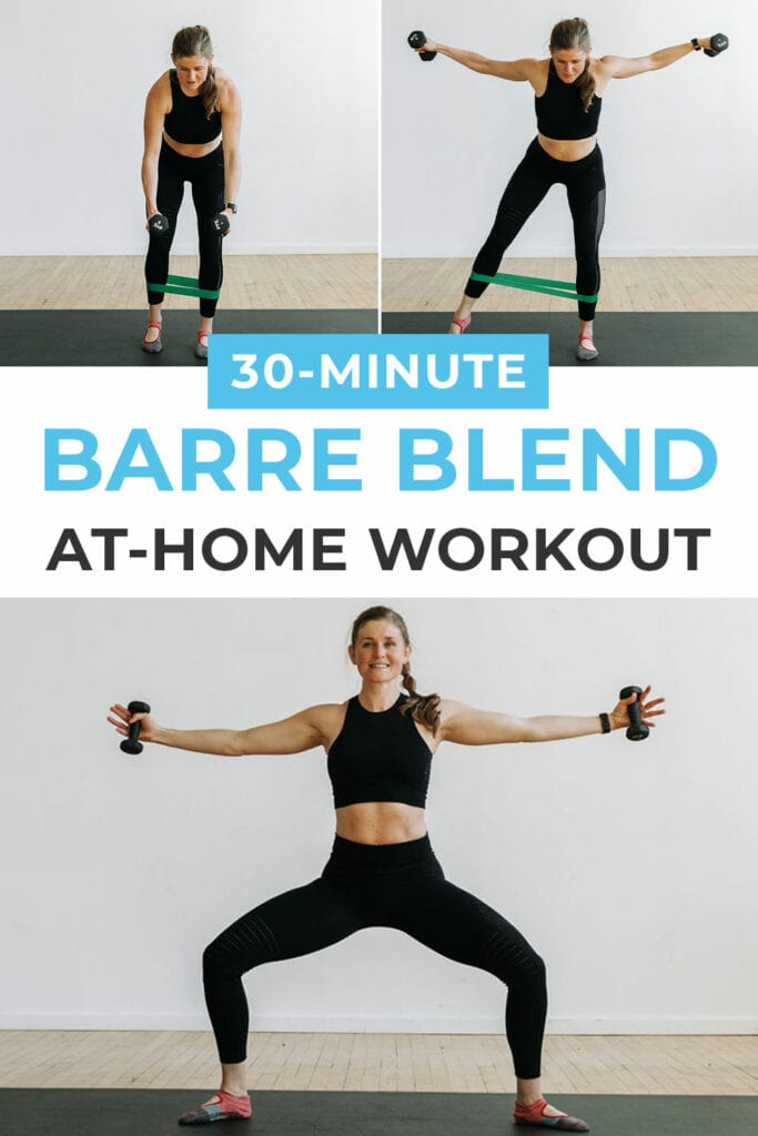Barre Blend At Home Workout Video