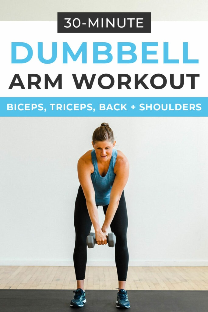 Dumbbell Arm Workout at Home