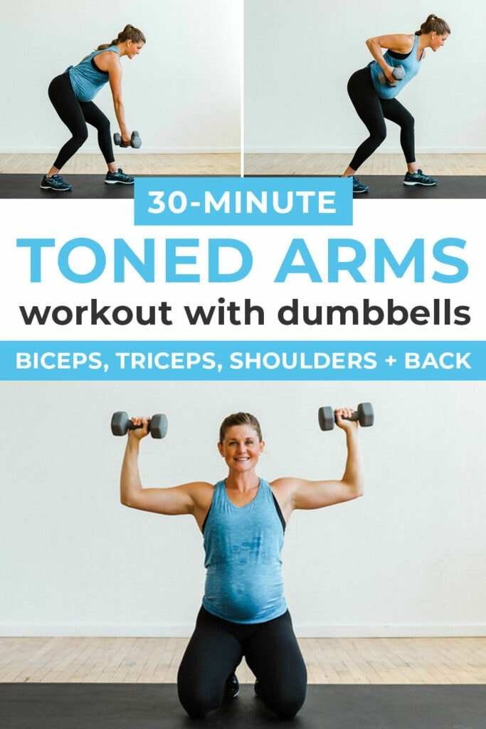 Toned Arms Workout with Dumbbells