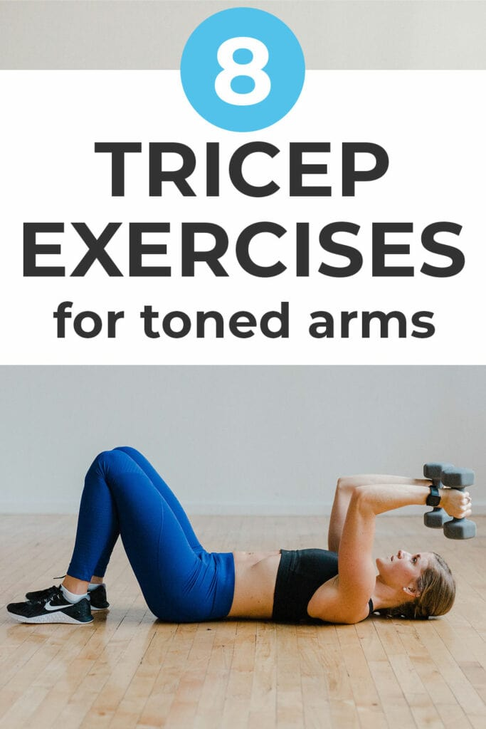 8 Tricep Exercises for Toned Arms