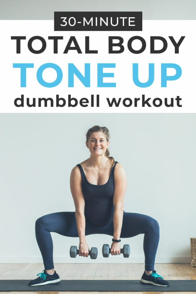30 minute Total Body Dumbbell Workout for Women