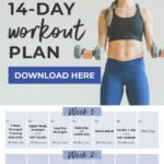 14 Day Challenge | workout plan