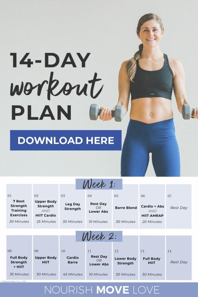 14 Day Workout Plan