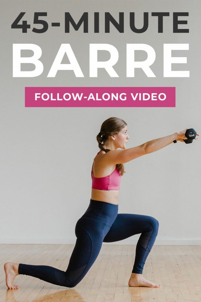 45 Minute Barre Workout At Home