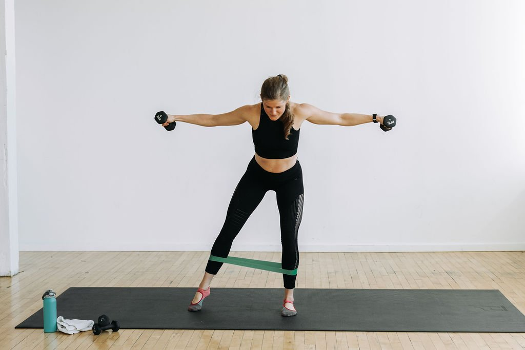 cardio barre with light weights