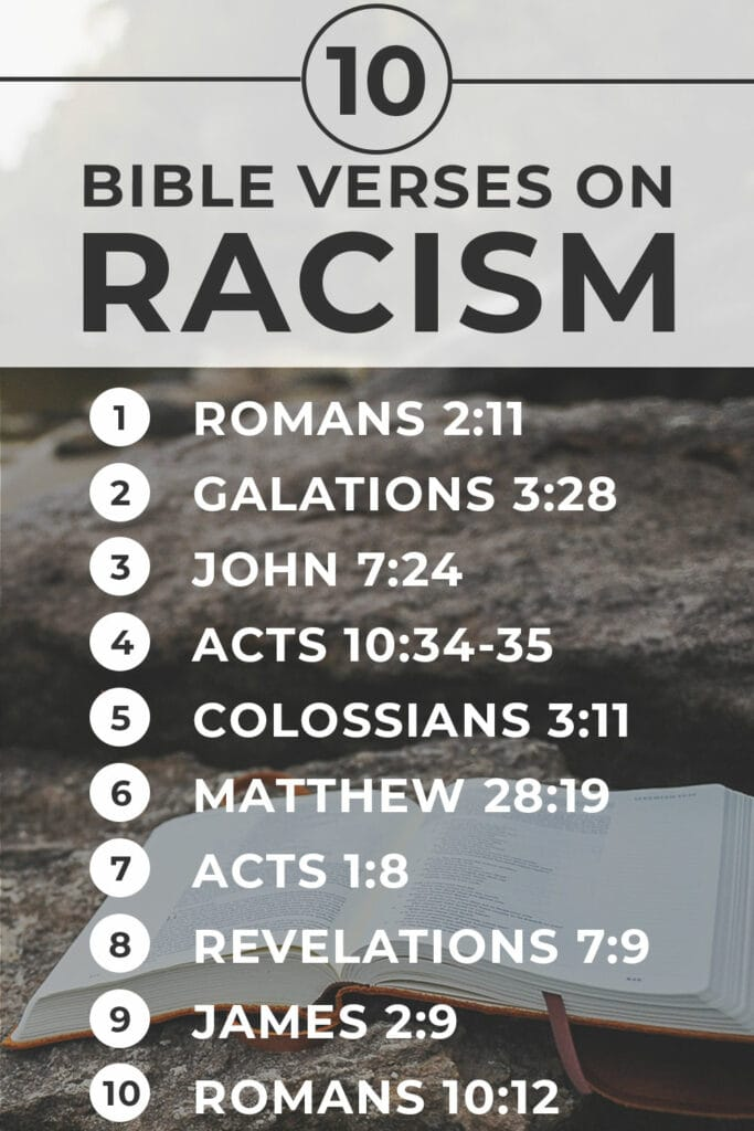 10 Bible Verses that Address Racism