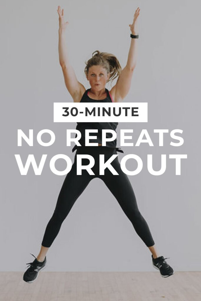 30 Minute HIIT Workout At Home