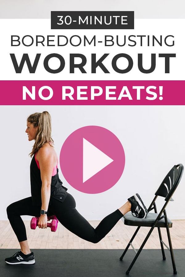30 Minute HIIT Workout No Repeats