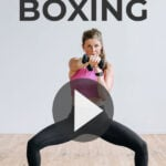 Barre Kickboxing | boxing workout at home