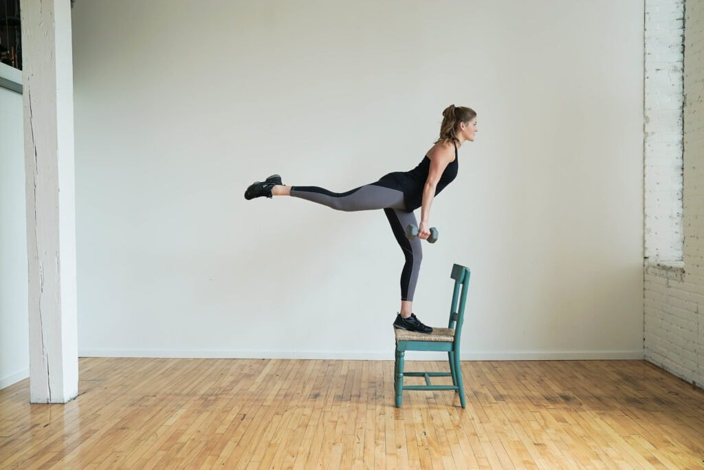 Booty Building Chair Step Ups