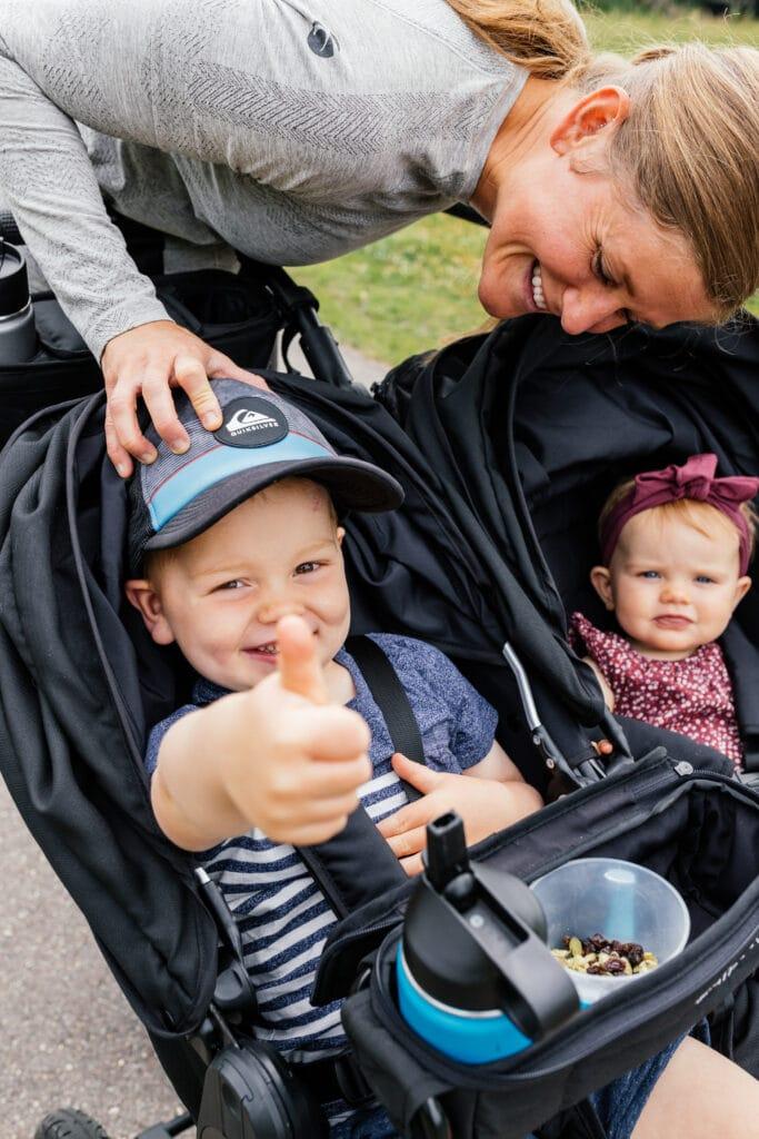 the best running stroller bumbleride