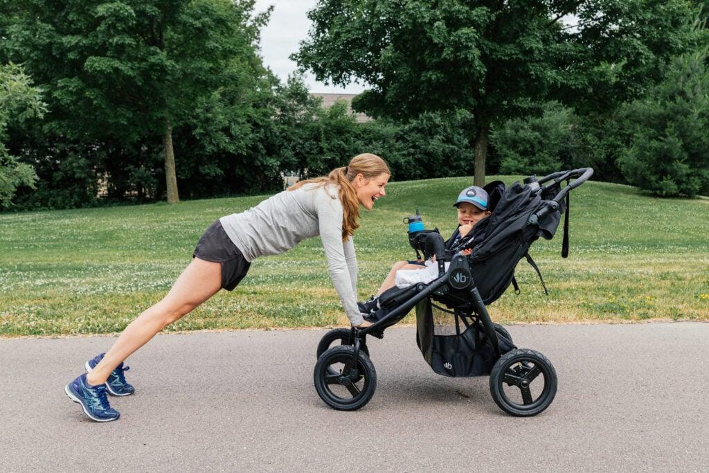 Stroller Workout postnatal workout for moms