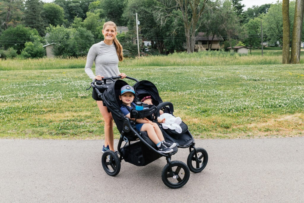 running and jogging stroller for active moms