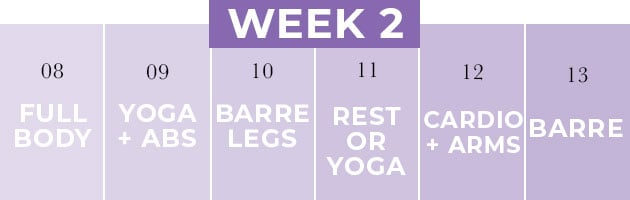 Pregnancy Workout Plan Week 2