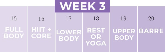 Pregnancy Workout Plan Week 3