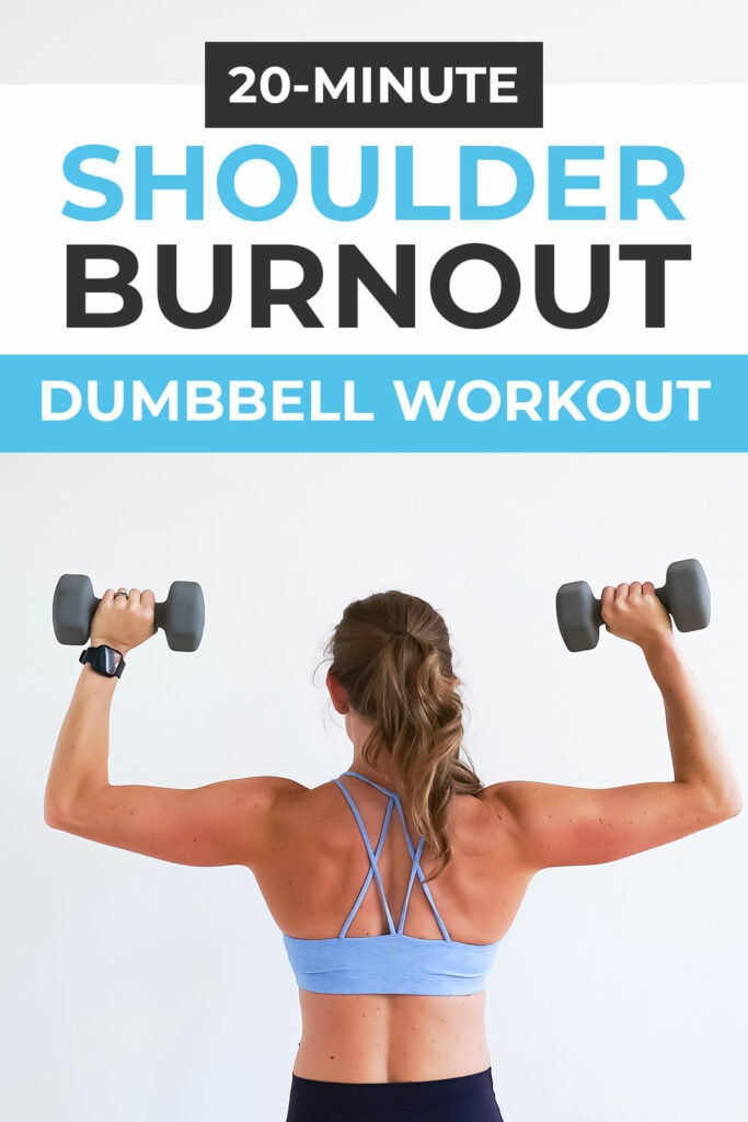 Dumbbell Shoulder Workout for Toned Arms
