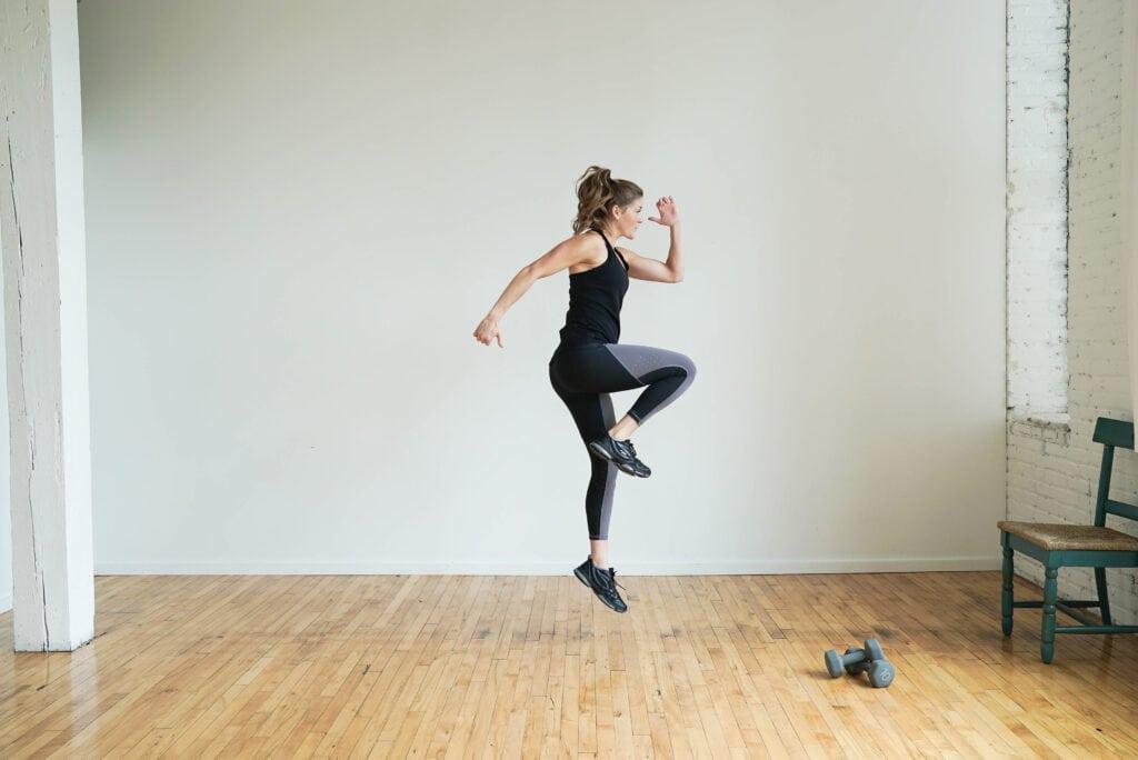 Single Leg Plyo Lunge | best butt workouts for women