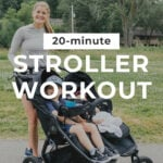 Stroller Workout | mom workout