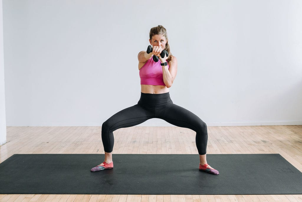 barre cardio kickboxing workout
