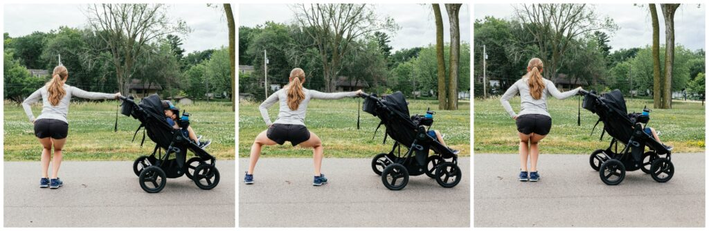 lateral squat walk