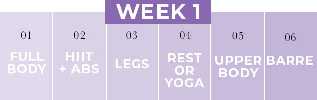 Pregnancy Workout Plan Week 1