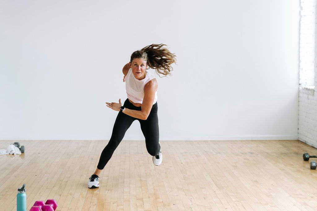 Burn 400 calories circuit training workout
