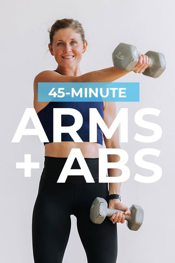 45-Minute Arms and Abs Workout
