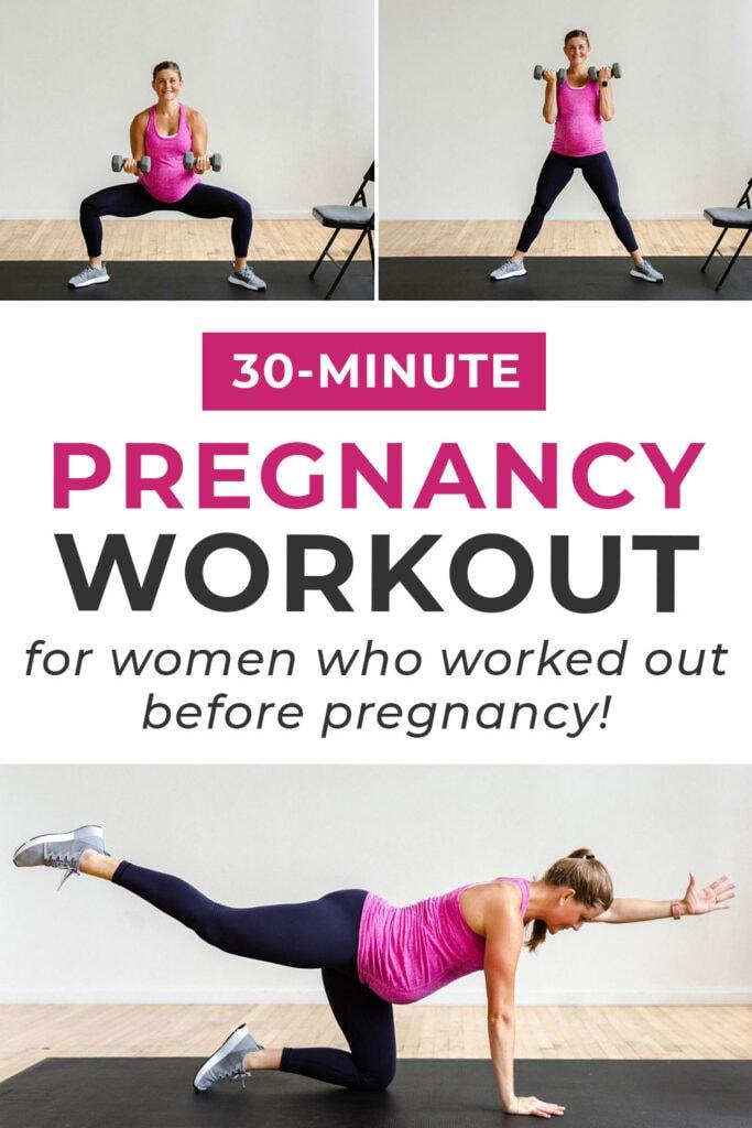 30 minute advanced pregnancy workout