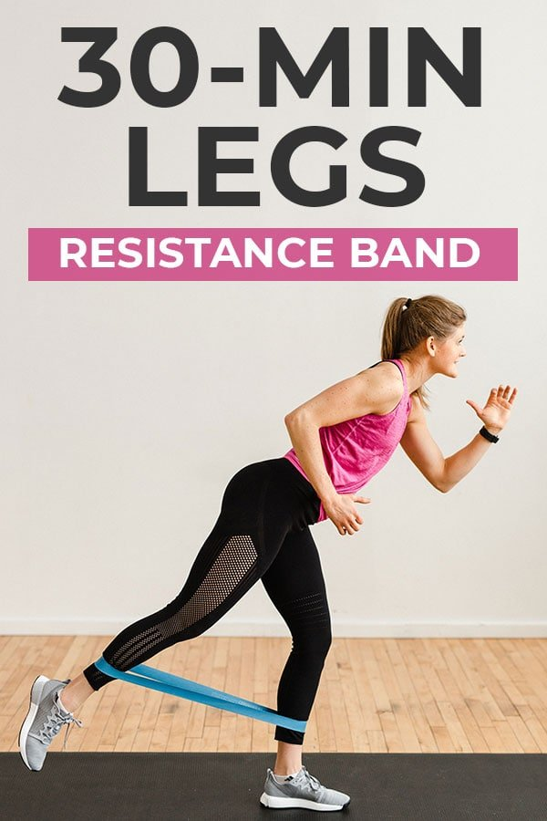 Resistance Band Leg Exercises