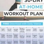 30 Day Workout Plan part 6 Pin