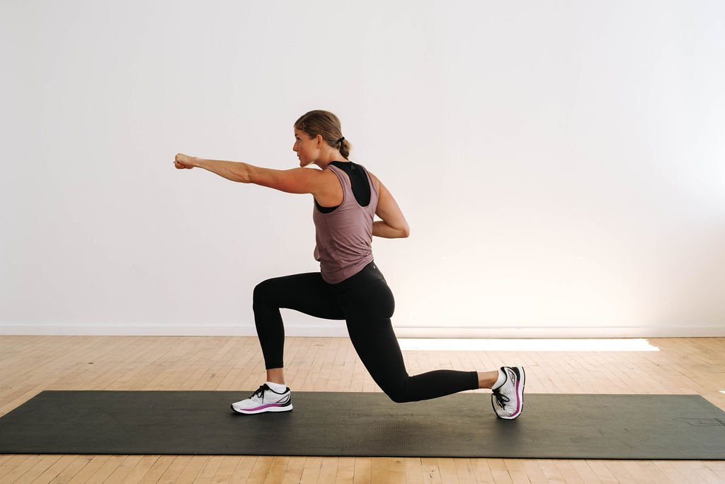 Cardio Kickboxing Workout At Home