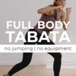 Cardio Kickboxing Tabata Workout Pin