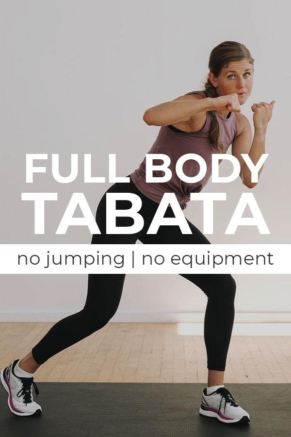 No Equipment Cardio Kickboxing Tabata Workout