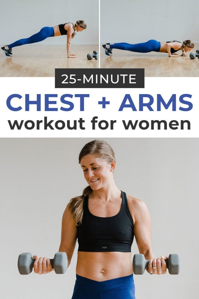 5 Best Chest Exercises For Women Chest Workout Nourish Move Love
