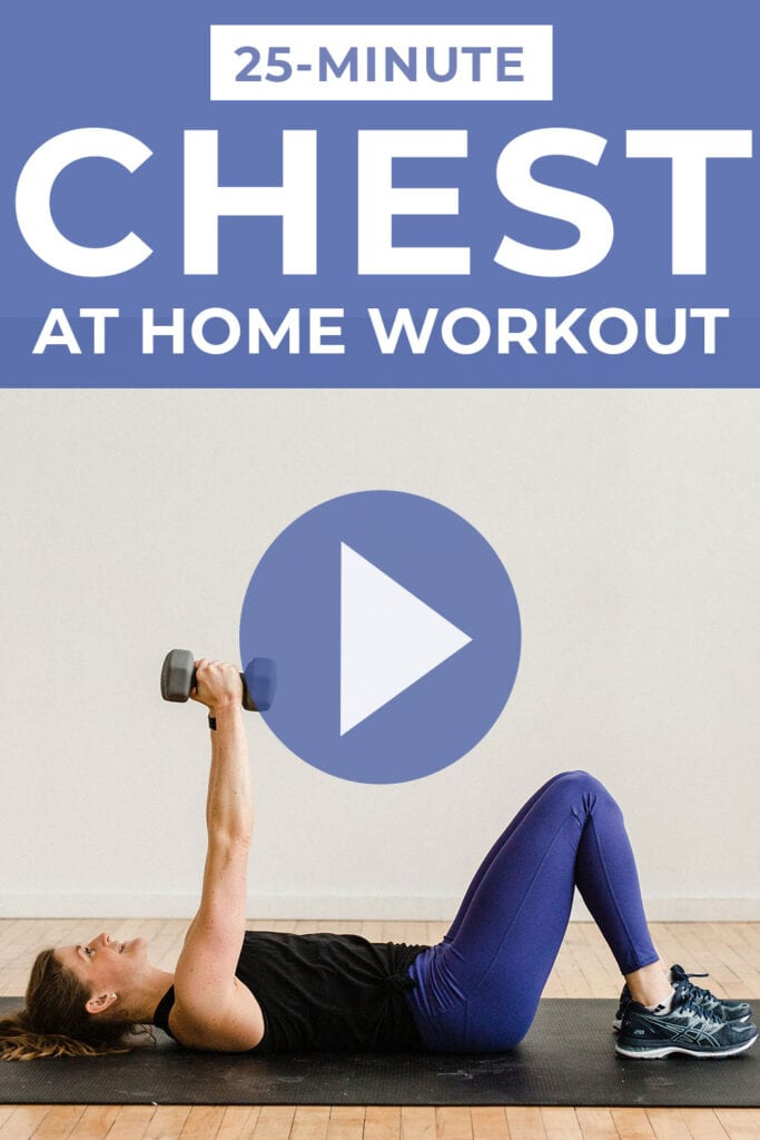 Chest Workout for Women At Home