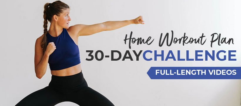 30 Day Workout Challenge with videos