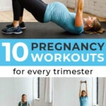 Prenatal Workouts Pin for Pinterest