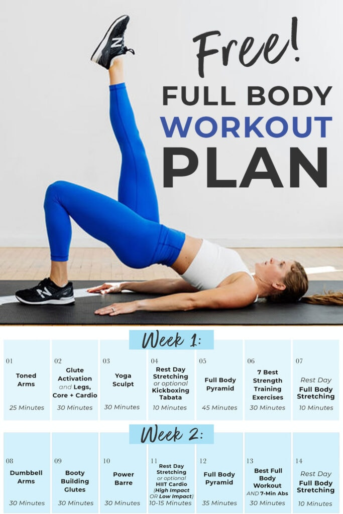 The best FREE At Home Workout Plan