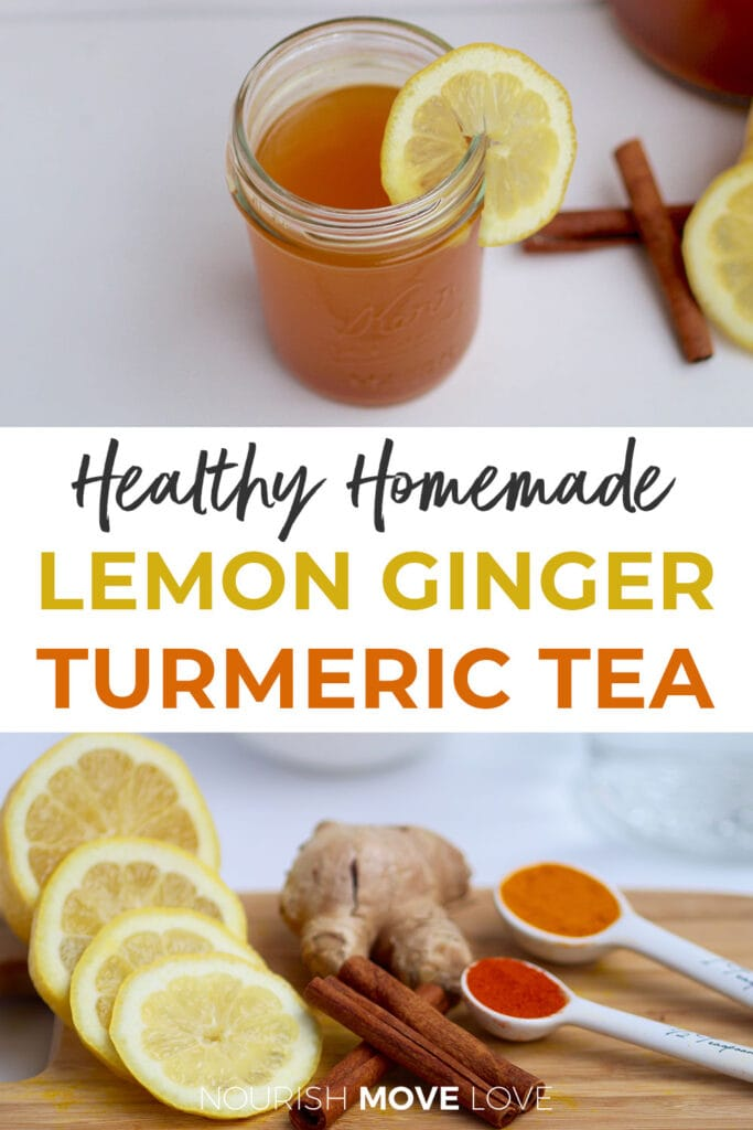 Homemade Detox Tea Recipe Lemon Ginger Turmeric Tea
