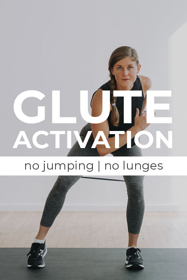 Glute Activation butt workout no lunges