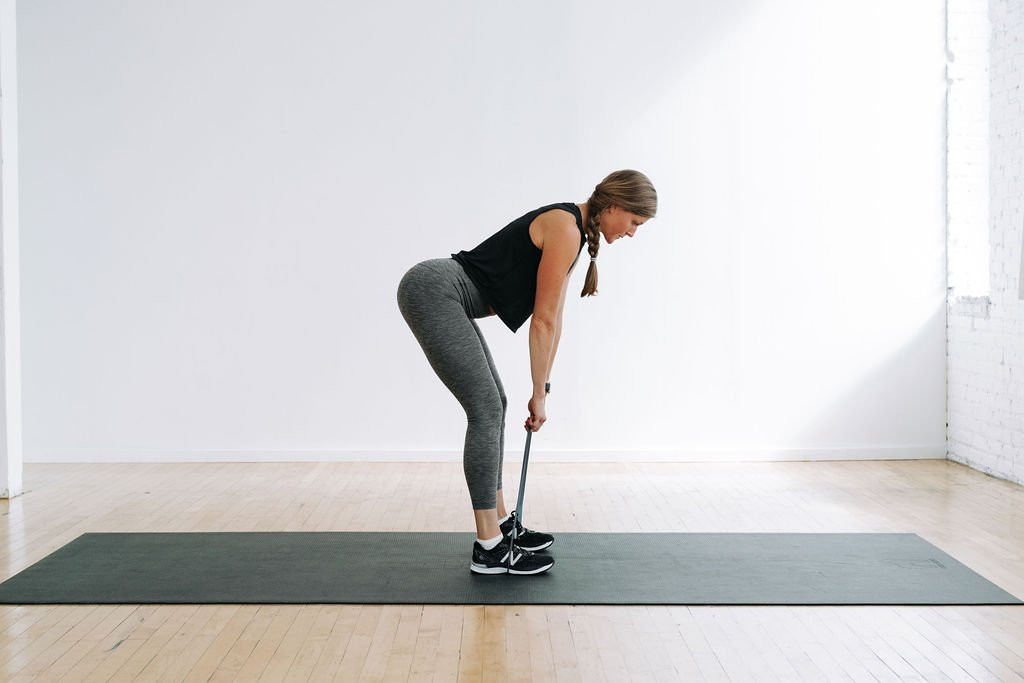 Hip Hinge with Mini Band to Activate Glutes