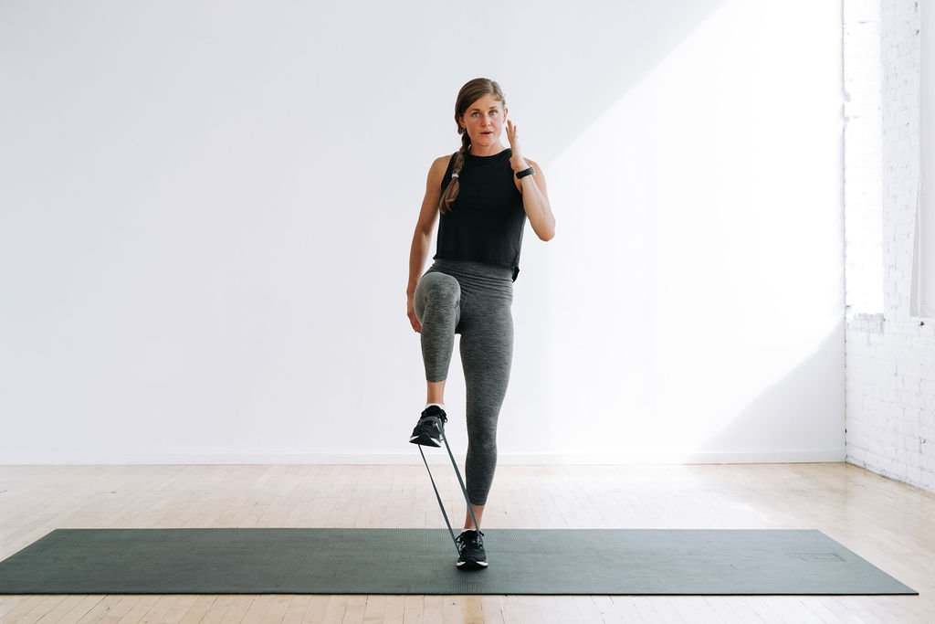 Glute Activation Exercises with Resistance Band