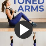 Toned Arms pin for pinterest